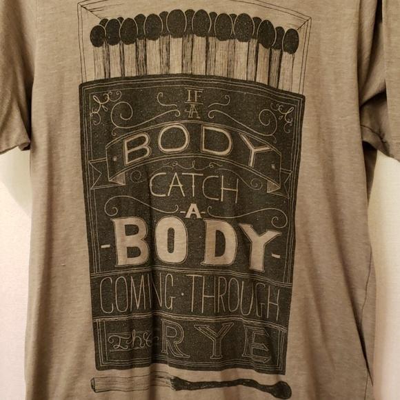 Other - Catcher in the rye nerdy literature tshirt size M